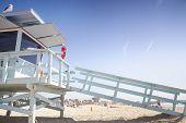 Lifeguard Station,venice Beach, Los Angeles, Usa