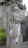 Statue Of Belgian Grenadier Of WWI. Brussels, Belgium
