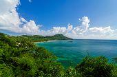 Hermosa bahía del Caribe