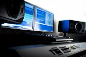 foto of workstation  - Music production and recording studio - JPG