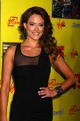 LOS ANGELES - JAN 23:  Peta Murgatroyd arrives at the