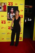 LOS ANGELES - JAN 23:  Carmen Electra arrives at the
