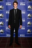 SANTA BARBARA - 24 de JAN: Colin Ford chega em Santa Barbara International Film Festival