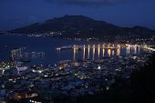 Zakinthos Port Night View