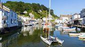 Polperro Harbour Cornwall England
