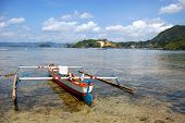 Fishing Boat Near Coast