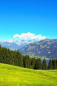 Alps mountains in Tirol, Austria