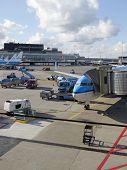 Schiphol Airport, Amsterdam, Netherlands.