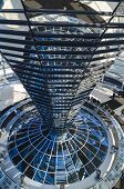 Steel, Glass And Mirrored Cone - Architectural Details Of Reichstag Dome