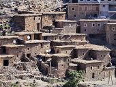 Village In Atlas Mountains, Morocco