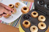 Baking Mini Donuts