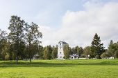 Wooden Lighthouse In Estonia
