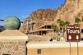 Hoover Dam Visitors Center In Boulder City, Nv On May 13, 2013