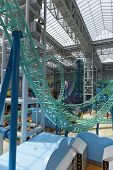 Rollor Coasters In The Mall Of America In Bloomington, Mn On July 06, 2013