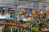 Mall Of America's Nickelodeon Universe In Bloomington, Mn On July 06, 2013