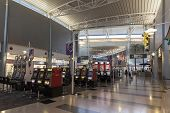 A Gambling Area Of Mccarran Airport In Las Vegas, Nv On July 06, 2013