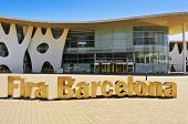 BARCELONA, SPAIN - SEPTEMBER 16: Gran Via Centre of Fira de Barcelona on September 16, 2013 in Barce