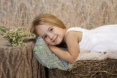 Resting Country Girl