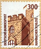 Hambach Castle Stamp