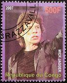 Mick Jagger Stamp