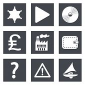Icons for Web Design set 24