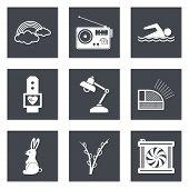 Icons for Web Design set 25