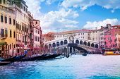 Rialto Bridge And Grand Canal