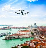 Venice And Plane