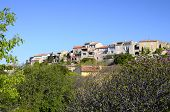Village Of Castellet In France