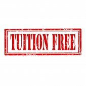 Tuition Free-stamp