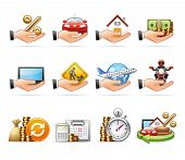 Credit & Loan - Harmony icon set 07