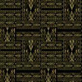 Patchwork Seamless Khaki Snake Skin Pattern Texture