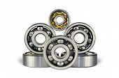 Six Ball Bearings