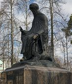 Monument Dedicated To Saint  Savva Storozhevsky