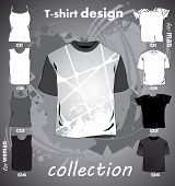 T-shirts template