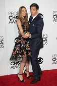 LOS ANGELES - JAN 8: Michael Weatherly, Bojana Jankovic at The People's Choice Awards at the Nokia T