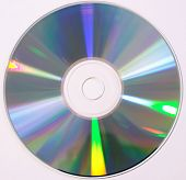 stock photo of diffraction  - CD compact disk - JPG