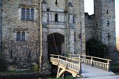picture of manor  - HEVER CASTLE AND GARDENS - JPG