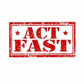 Act Fast-stamp