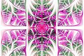 stock photo of triptych  - Fabulous fractal pattern - JPG