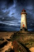 The Talacre Lighthouse