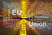 European Union Word Cloud Box Package