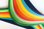 Colored stripes as background wallpaper or screen-saver