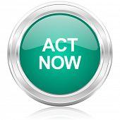 act now internet icon