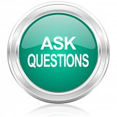 ask questions internet icon