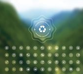 ecology blurred background