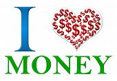 Love Money Red Green Blue