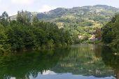 Serchio River, Tuscany (italy)
