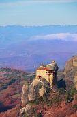 Monastery of St. Nicholas Anapausas landscape