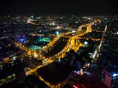 Night view of Ho Chi Minh, Vietnam